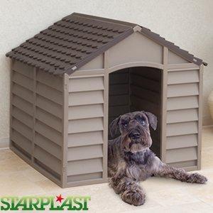 Plastic dog kennel £29.99 @ Home Bargains