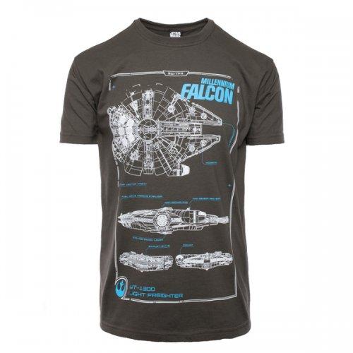 Merchoid - Millenium Falcon Maintenance T-shirt - £8.99