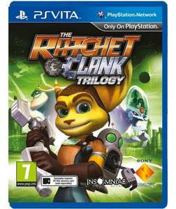 Ratchet and Clank Trilogy PS Vita Now just £7.99 @ Argos