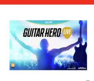 guitar hero live wii u /Xbox 360 /ps3 £19.99 at argos