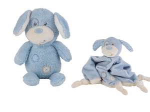 Argos Chad Valley Baby My First Teddy and Comforter Blue £3.99