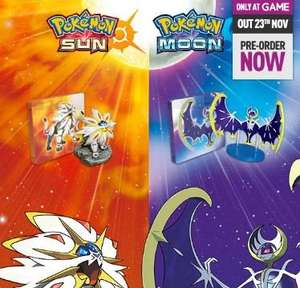 Limited Edition - Pokemon Sun/Moon: Fan Edition with preorder bonus figure! £44.99 @ GAME