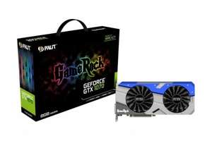 Palit GeForce GTX 1070 GameRock 8GB GDDR5 Dual-LInk DVI HDMI 3x DisplayPort PCI-E Graphics Card £388.98 @ ebuyer