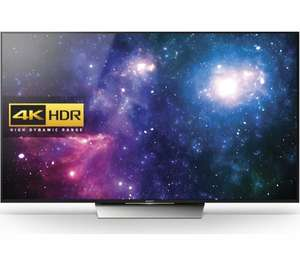 "SONY BRAVIA KD65XD8599BU Smart 4k Ultra HD HDR 65"" LED TV £1799.10 using code TV10 + possible price match @ Currys"