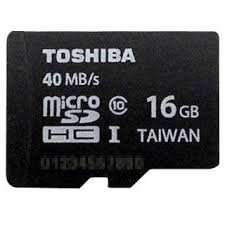 16GB Class10 UHS-1 Micro SDHC card with Adapter (Toshiba)- 5 year warranty- £3.95 Free delivery- MobyMemory(UK seller)