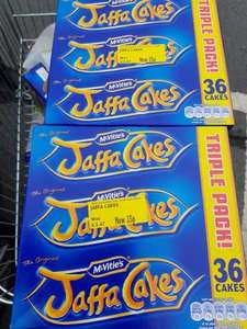 mcvities jaffa cakes triple pack £1.47 reduced to 35p @ Morrisons - Heywood