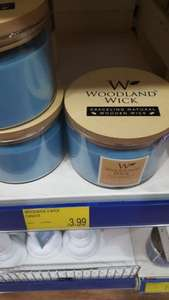 Woodland Wick large 3 Burner candles  £3.99 @ B&M