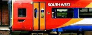 Take the family to London, Available til 9th September-  South West Trains £16 off-peak day return, Kids travel for only £3