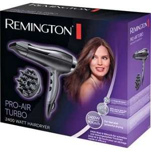 Remington 2400W Hair Dryer with 3 year guarantee £16.99 was £39.99 @ Argos