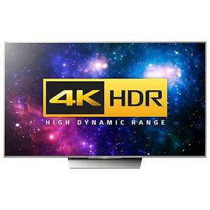 Sony Bravia 55XD8577/8599 4K HDR TV 55inch (xd8577)  save £14 plus get a £130 blu-ray player £1155.04 delivered @ John Lewis