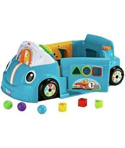 Fisher-Price Laugh & Learn Crawl Around Car - Blue £39.99 was £79.99 @ Argos