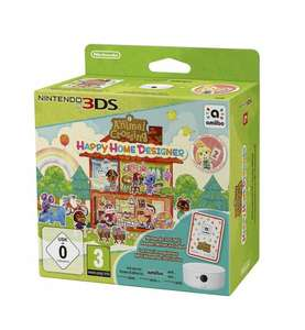 Animal Crossing: Happy Home Designer + amiibo Card + NFC Reader/Writer (3DS) £18.26 prime / £20.25 @ Amazon