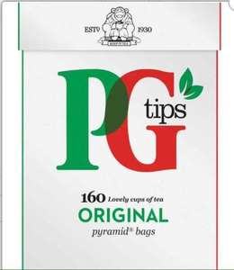 PG TIPS 160 Pyramid Bags Only FOR £2.25 @ Heron
