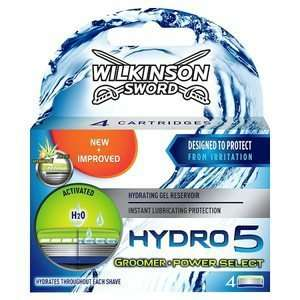 Wilkinson Sword Hydro 5 blades 4's £2.12!!  @ Boots