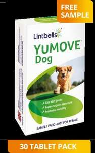YuMove Dog 30 Tablet Sample Pack.