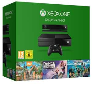 Xbox One 500GB Console with Kinect - 3 Game Value Bundle (Kinect Sports Rivals, Zoo Tycoon and Dance Central) £239.99 @ amazon