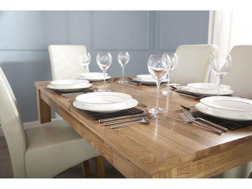 Solid Oak Dining Table - Butchers Block Top Design (Ebay UK) 150cm L x 90cm W £189.95! @  rightdealsuk / ebay