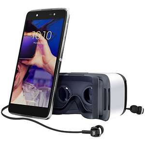 SIM FREE Alcatel Idol 4 16gb with VR Headset now £169.00 with code and free C&C @ Tesco