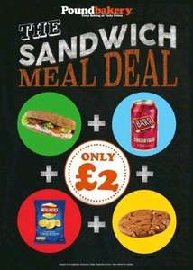 Megal Lunch Deal At Pound Bakery £2