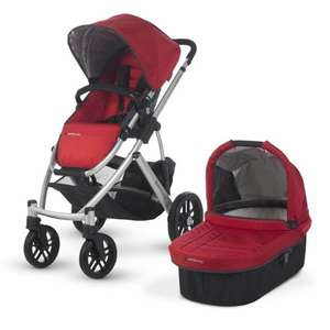 Uppababy Vista Pram - Denny Red £399 @ Winstanleys pram world
