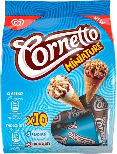 Cornetto Peanut Butter Love Ice Cream Cones / Choc 'n' Caramel Crunch (4 x 90ml) was £2.50 now £1.50 @ Sainsbury's