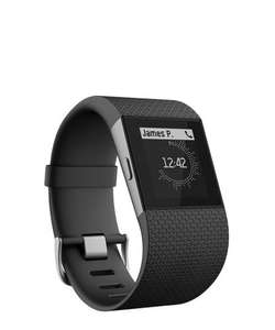 Fitbit Surge Black Large Size only £175 down to £136.20 after using code at secretsales.com