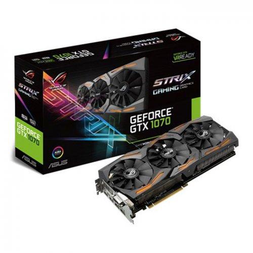 Asus NVIDIA GeForce GTX 1070 8GB ROG STRIX GAMING £467.64 delivered @ Scan