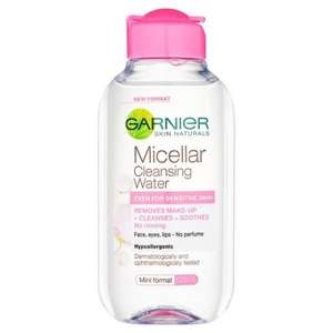 Garnier Micellar Cleansing Water (125ml)  £1.00 @ Poundland