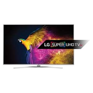 """LG 65UH770 LED HDR Super 4K Ultra HD Smart TV, 65"""" With Freeview HD/freesat HD, Harman Kardon Sound & Bright Metal Design + LG LAS355 2.1 Bluetooth Sound Bar with Wired Subwoofer £1499.00 @ John Lewis"""