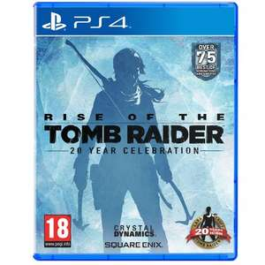 Rise of the Tomb Raider PS4 - 20th Celebration Edition (inc. all DLC & Artbook) - £34.99 Delivered @ Base.com