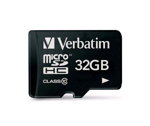 Verbatim 32GB 45MB/s Class 10 microSD card - £5.99 at MobyMemory