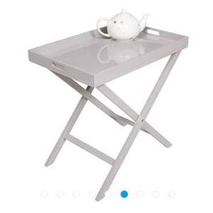 Tesco Butlers Tray Table, Taupe, reduced from £35 to £21