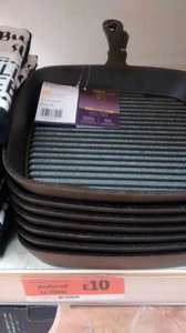 'Collections' Heavy-Duty Cast Iron Grill Pan - Sainsburys (Instore) - £10