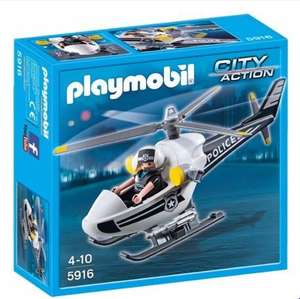 Playmobil 5916 Police Helicopter £4.19 @ Argos