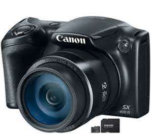 Canon PowerShot SX400 16MP 30x Zoom Bridge Camera  £69.99 @ Argos