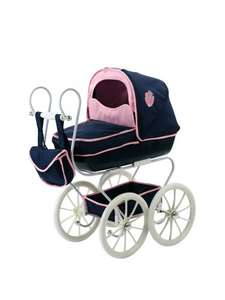 Hauck Classic Navy Dolls Pram now £29.99 @ Very