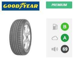 Goodyear Efficientgrip Performance Car Tyre - 195/65R15 91V - £44 @ Event Tyres