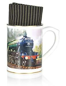 M&S Flying Scotsman Mug and Socks Gift was £12.50 now £3.99 Free Del to Store (Also Spitfire if stock avail)