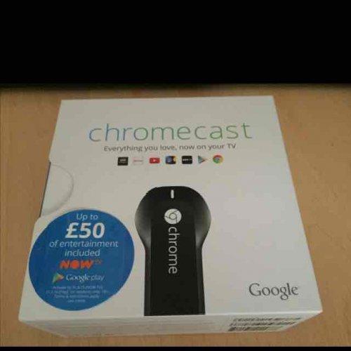 Chromecast 1st Gen scanning at £10 Tesco - Old Swan Liverpool