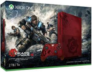 Xbox One S 2TB Console - Gears of War 4 Limited Edition Bundle £328.38 @ Amazon France