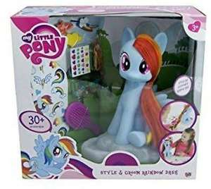 My Little Pony Rainbow Dash Style and Groom - £16.99 B&M Bargains