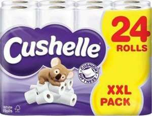 Cushelle Toilet Rolls Pack of 24 £7 Instore @ Asda