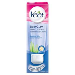 Veet Bodycurv Hair Removal Cream £3.48 Superdrug was £6.99 - free order & collect