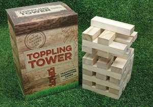 Giant Toppling Tower (Jenga) WAS £20 NOW £5 at Asda (Instore)