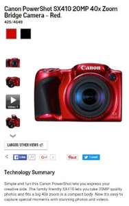 Bridge camera £99 @ Argos
