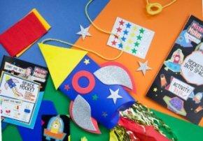 Free Mister Maker Club Kids Craft Box.