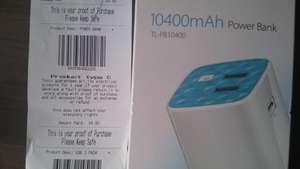 TP-Link 10400mAh Power Bank - £6 - Tesco Instore