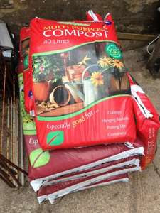 Cheap multipurpose compost - £1.49 @ B&M Stores