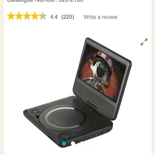portable tesco dvd player £25 instore - Telford