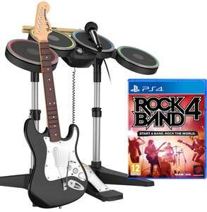 Rock Band 4 Band-In-A-Box PS4 £59.99 @ Zavvi